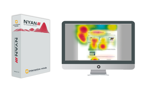 Eyetracking software - see, evaluate and export your eye